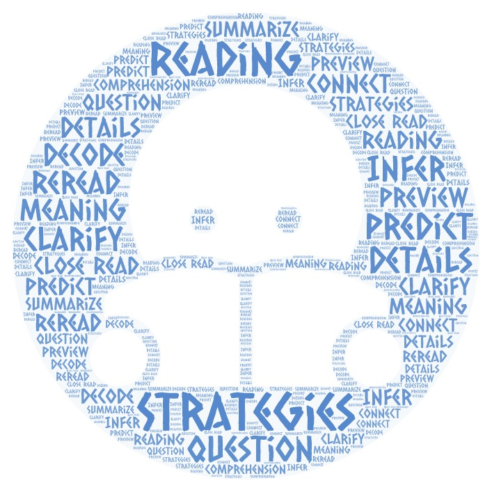 Reading Strategies Word Art