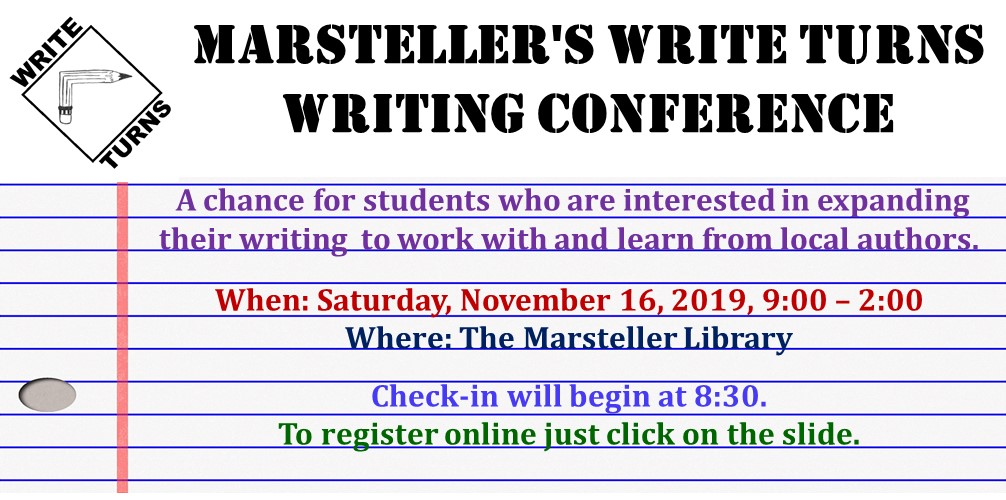 MMS 2019 Write Turns Writing Conference Information